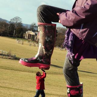 big boot stomping small person - flickr kennysarmy