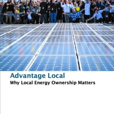 Report: Advantage Local – Why Local Energy Ownership Matters
