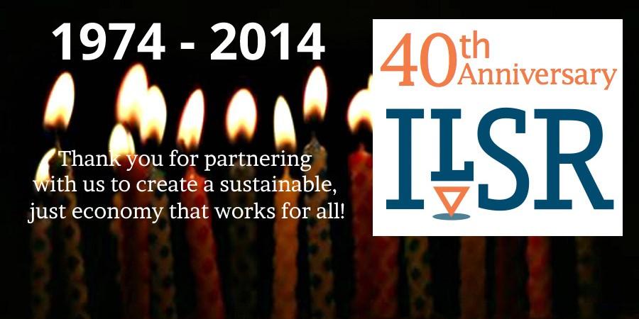 ILSR's 40th Anniversary