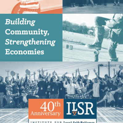 Image: ILSR 2015 Annual Report