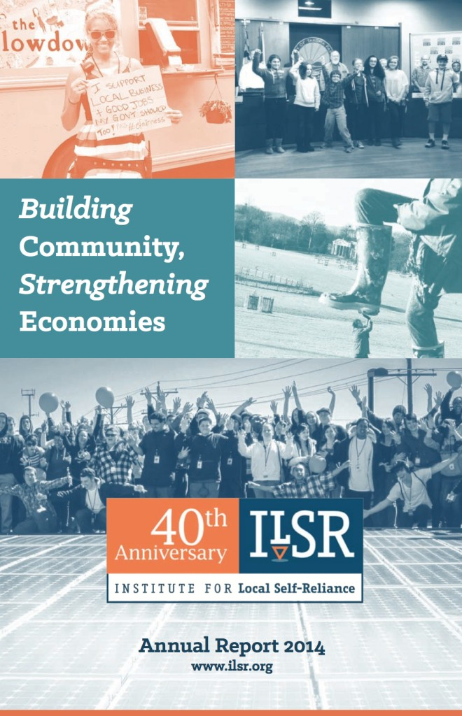 Image: ILSR 2014 Annual Report