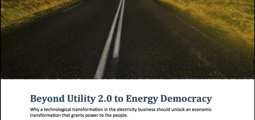 "Beyond Utility 2.0: Part 1 ""A Prelude to the Future"""