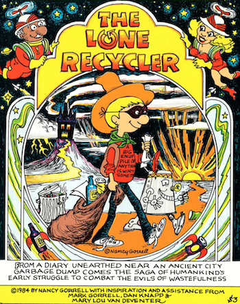 The Comic Book that Started a Movement: The Lone Recycler