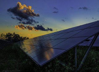 sunrise on solar - flickr Jonathan Potts