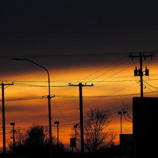 santa fe sunset - flickr Drriss & Marrionn