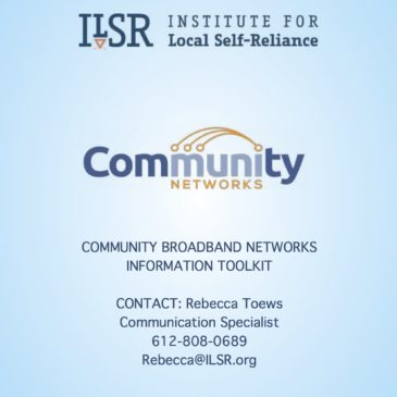 Community Broadband Networks Press Packet