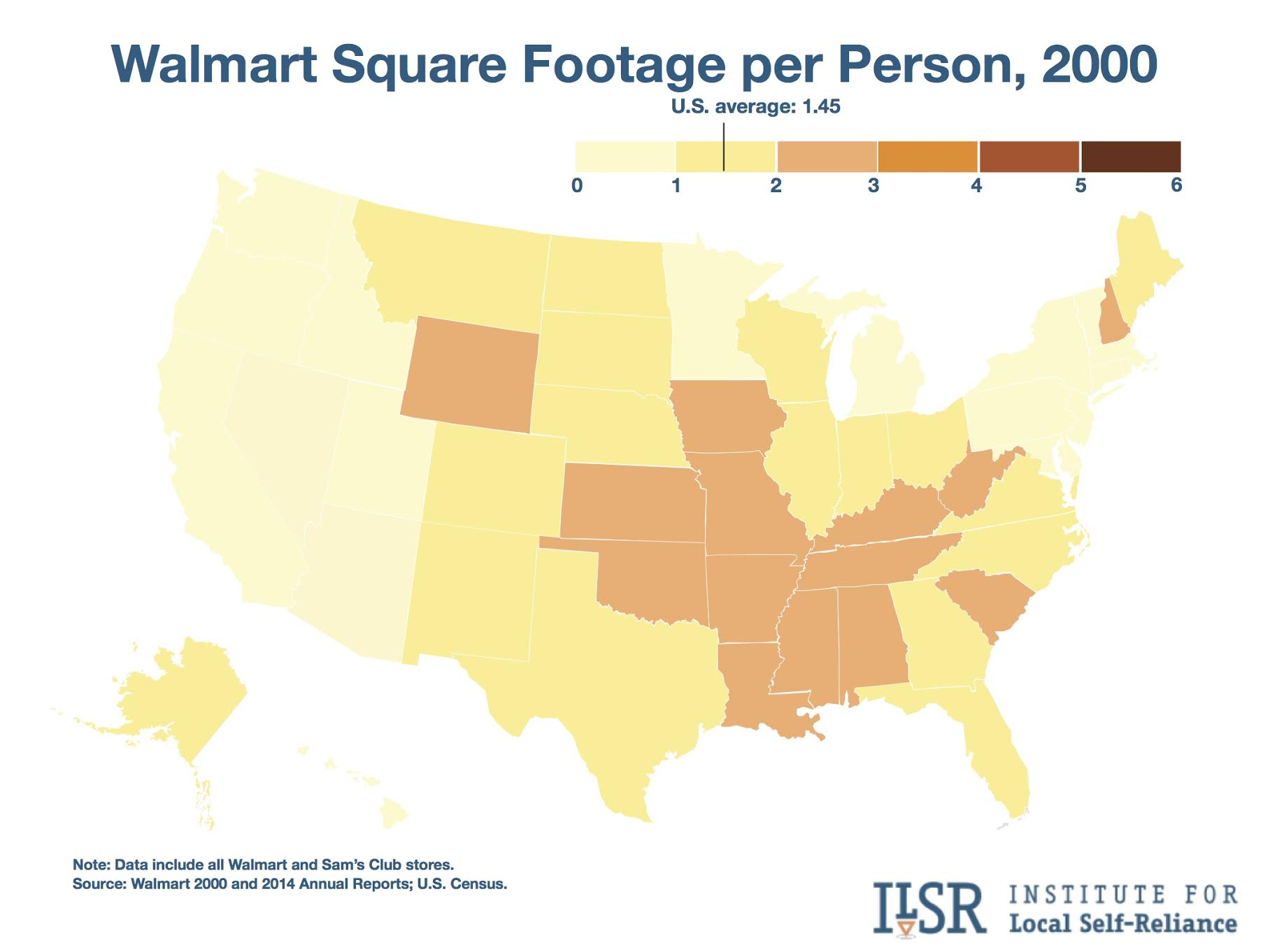 New Maps Show Alarming Pace Of Walmart S Continued Growth