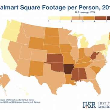 Walmart archives institute for local self reliance new maps show alarming pace of walmarts continued growth gumiabroncs Image collections