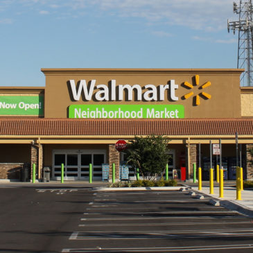 Photo: A Walmart Neighborhood Market.