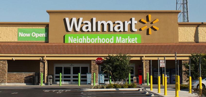 Photo: A Walmart Neighborhood Market.