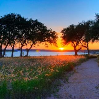 sunset in georgetown tx - flickr Jim Nix