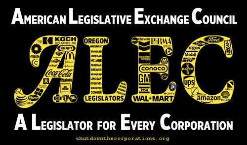ALEC in Savannah: Local News Video Exposes the Corrupt Process of Lawmaking