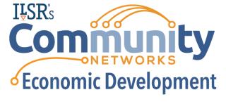ILSRs Community Networks Economic Development Logo