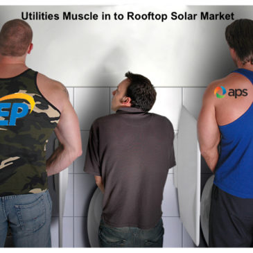 If You Can't Beat 'Em, Own 'Em—Utilities Muscle in to Rooftop Solar Market