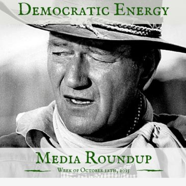 Democratic Energy Media Roundup – week of October 12, 2015