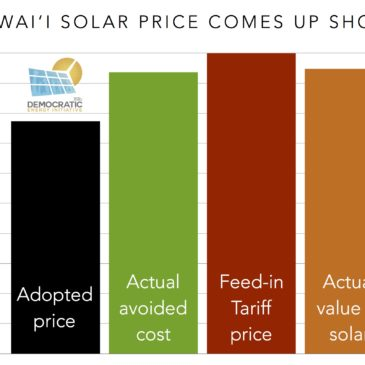 Hawaii's Net Metering Alternative Comes Up (Way) Short