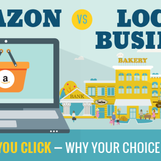 Image: Amazon vs. Local Business