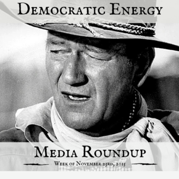 Democratic Energy Media Roundup – week of November 23, 2015