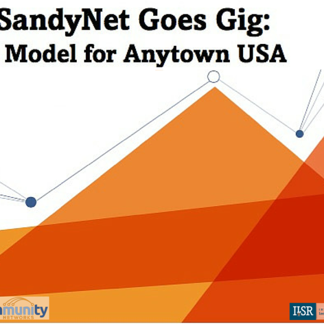 SandyNet Goes Gig