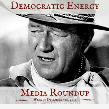 Democratic Energy Media Roundup – week of December 7, 2015