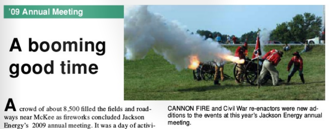firing cannons