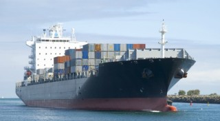 Container ship for TPP