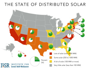 Distributed Generation of Solar by State - 2015 Year-End Update (Original Post, Feb. 2016)
