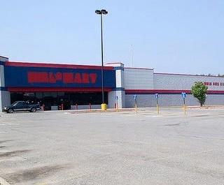 Photo: Empty Walmart.