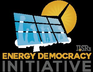 ILSR Energy Democracy Initiative Logo - Stacked