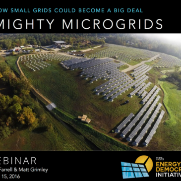 Watch: Mighty Microgrids Webinar Recording