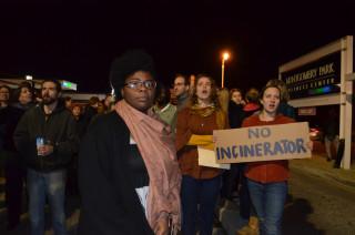 curtis bay incinerator protestors