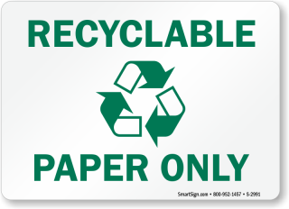 paper-only-recycling-sign