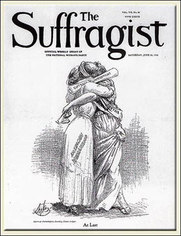 the suffragist, at last
