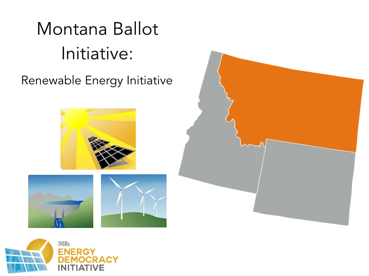 Montana 2016 Energy Ballot Initiatives