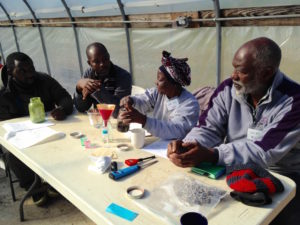 NSR Aida Compost Testing