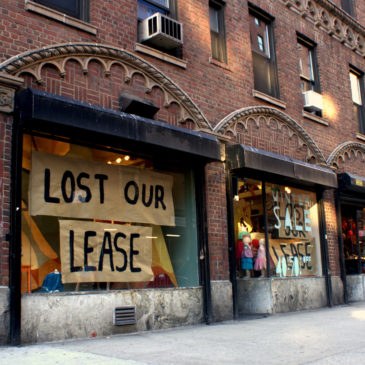 Photo: Lost our lease.