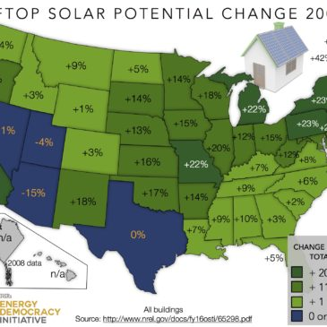 Sharply Higher Rooftop Solar Potential Increases Opportunity for Energy Self-Reliance