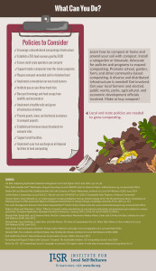 ILSR Compost Day 5 Policy