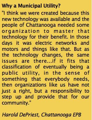 Why A Municipal Utility?