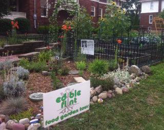 Edible Flint Tour - Random Garden