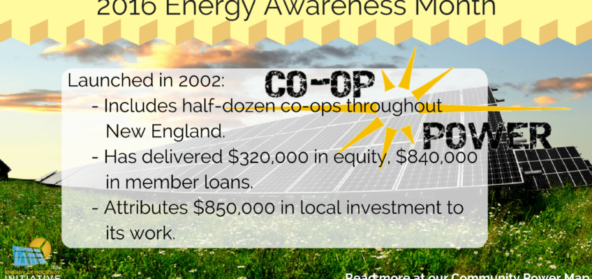 Co-op Power Puts Localist Spin on Clean Energy Economy