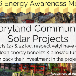 In Maryland, Community Solar Pioneers Offer Blueprint