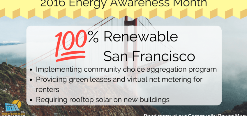 San Francisco Strides Toward an All-Renewable Future
