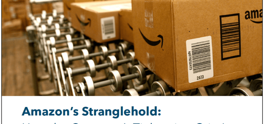 Press Release: Report Presents New Data on Amazon's Impact on Competition, Jobs, Economy