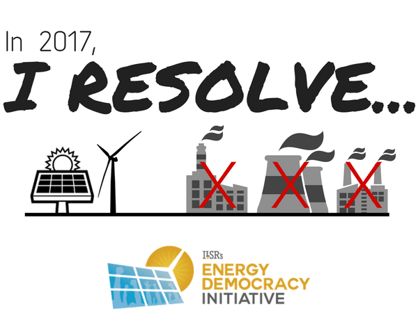 New Year's Resolutions for Electric Utilities, Happy 2017!