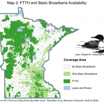 Fact Sheet on Minnesota's Rural Digital Divide
