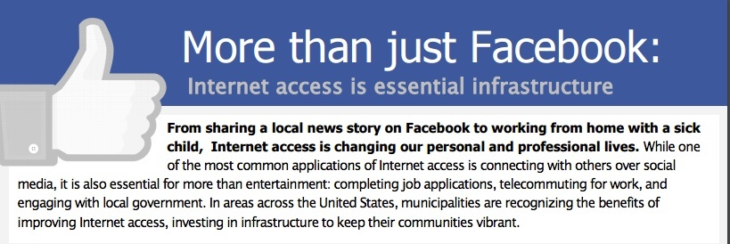"""More Than Just Facebook"" Internet Connectivity Fact Sheet"