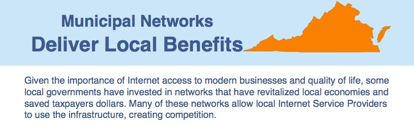 Fact Sheet On Municipal Networks In Virginia
