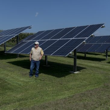 Thanks to Co-op, Small Iowa Town Goes Big On Solar