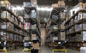 Photo: Inside an Amazon warehouse.